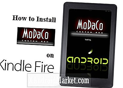 Så här installerar du Modaco ROM på Kindle Fire