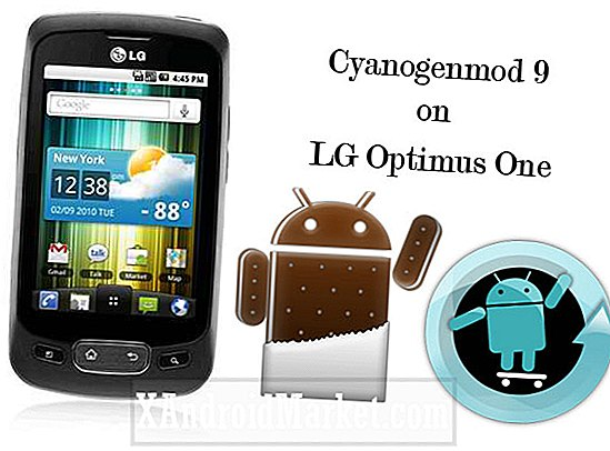 Uofficiel Cyanogen Mod 9 (ICS) til LG Optimus One P500
