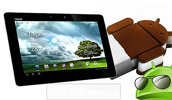 Oppgrader Asus Transformer til Ice Cream Sandwich via Cornerstone ROM