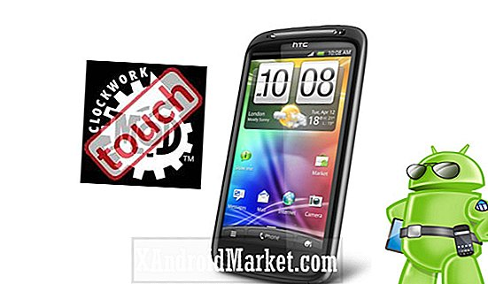 Installer ClockworkMod Touch Recovery sur le HTC Sensation