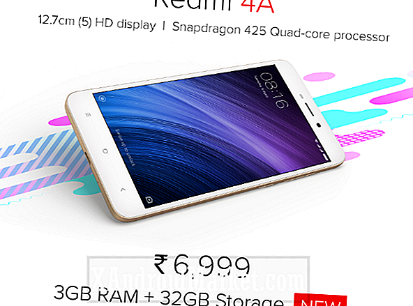 Xiaomi Redmi 4A met 3 GB RAM en 32 GB aan opslagintroducties in India