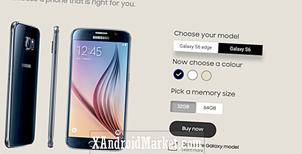 Samsung pudo haber tirado 128GB Galaxy S6 / Edge en India