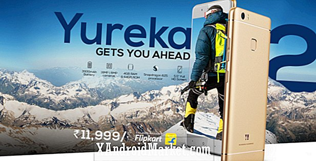 Yu Yureka 2 lancerer i Indien for Rs 11.999 (~ $ 185)