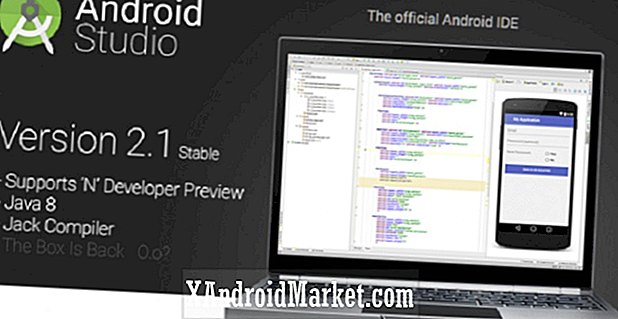 Lancement d'Android Studio 2.1, prise en charge d'Android N