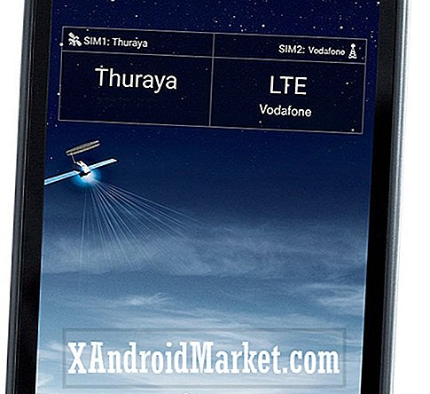 Thuraya X5 Touch est le premier combo satellite / smartphone Android