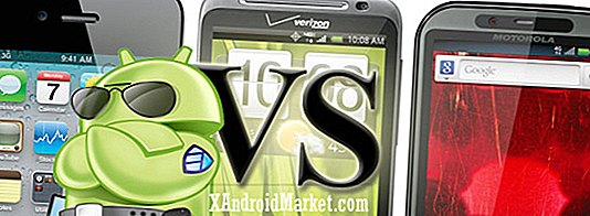 Verizon HTC Thunderbolt vs iPhone 4 vs Droid Bionic