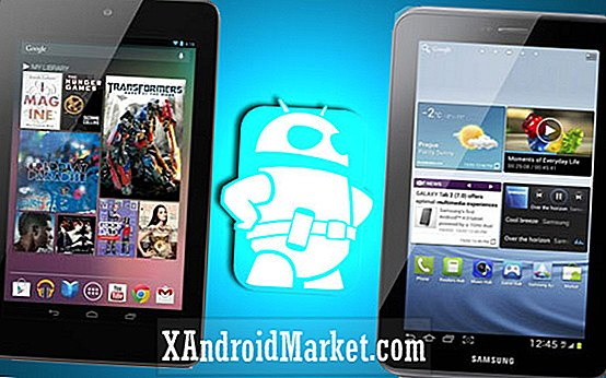 Google Nexus 7 vs Galaxy Tab 2 7.0