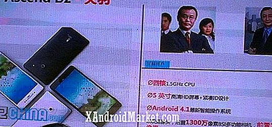 Huawei Ascend D2 onthuld in China met 5-inch scherm, quad-core CPU en 3000 mAh batterij