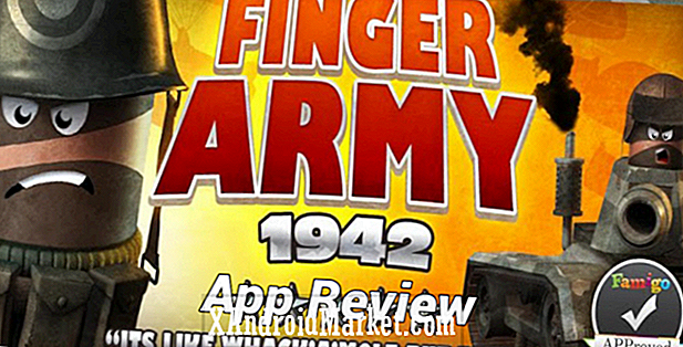 App Review: Finger Army 1942