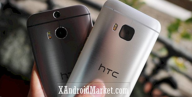 HTC One M9 vs HTC One M8 snelle look