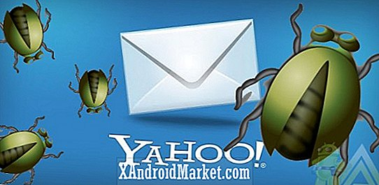 Yahoo!  Mail på Android bruges til at sende spam