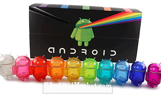 Android Mini set de colección de arco iris ya disponible