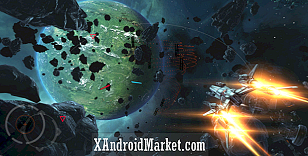 Jeu de tir spatial Galaxy on Fire 3 - Manticore disponible sur Google Play
