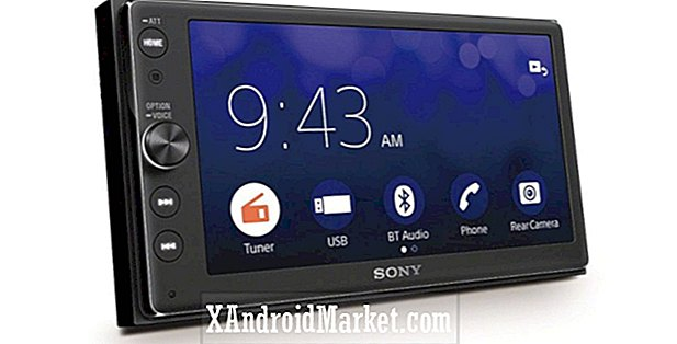 Sony's Android Car aftermarket head-unit nu te koop voor $ 499
