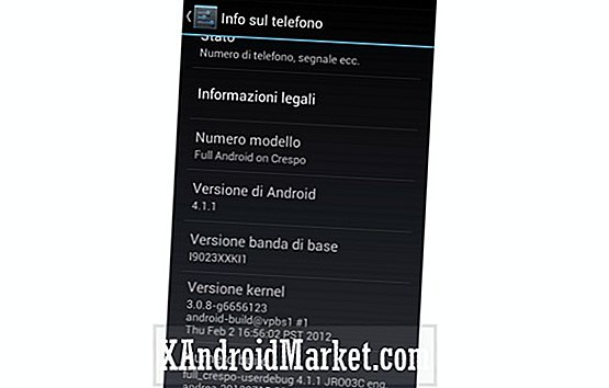 Jelly Bean AOSP ROM disponible pour le Google Nexus S