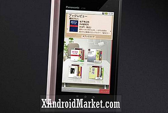 Panasonic Android eReader maintenant officiel
