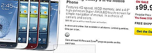 Deal: Samsung Galaxy S3 50% rabat på Best Buy i dag