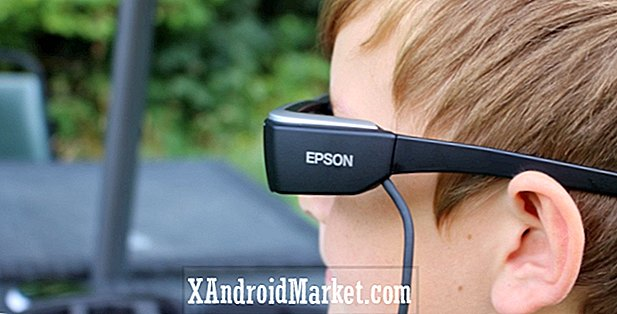 Epson Moverio BT-200 gafas inteligentes de revisión