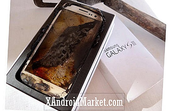 'Professionelt Microwaved' Galaxy S3 sælger på eBay for $ 2.012