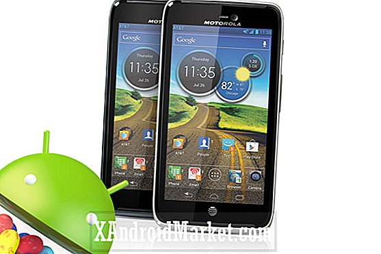 Android 4.1 Jelly Bean opdatering på AT & T's Motorola Atrix HD