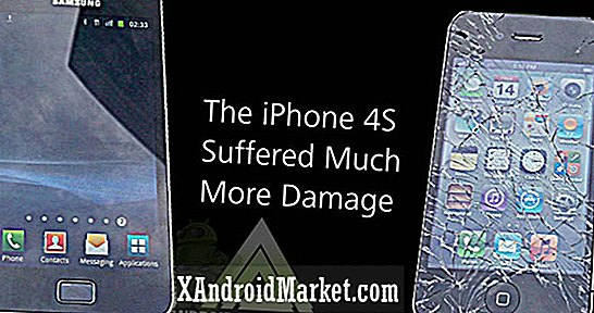 iPhone 4S Gets Demolished i Drop Test, lever Samsung Galaxy S2 till Android en annan dag