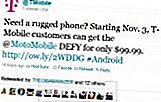 T-Mobile Twitter en 3. november landing for DEFY