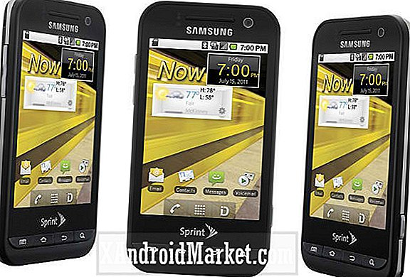 Sprint Busts Out The Samsung Conquer 4G For Their Lineup