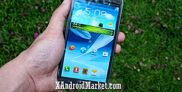Galaxy Note 2 Android 4.4.2 KitKat opdatering begynder at rulle ud