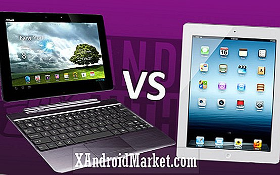 ASUS Transformer Pad Infinity vs Apple iPad 4