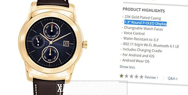 Deal: LG Watch Urban Luxe $ 150 ved B & H (50% rabat)