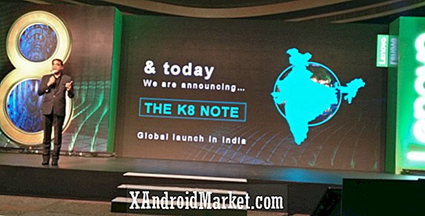 Lenovo K8 Note con doble cámara lanzado en India