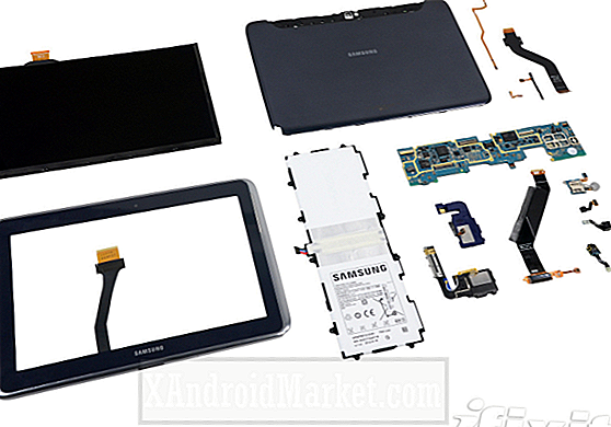 Examen: iFixit fait la dissection Galaxy Note 10.1 de Samsung