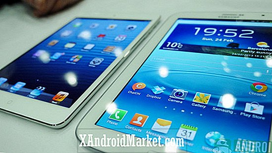 Samsung Galaxy Note 8 vs Apple iPad Mini