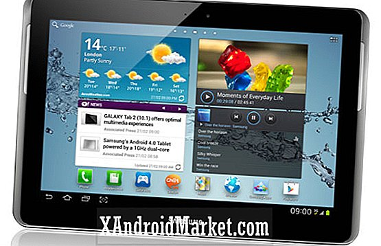 Samsung Galaxy Tab 2 10.1 kommer til AT & T den 9. november