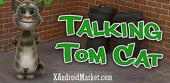 Talking tom cat app for at introducere virkelige legetøj til at interagere med appen (video)
