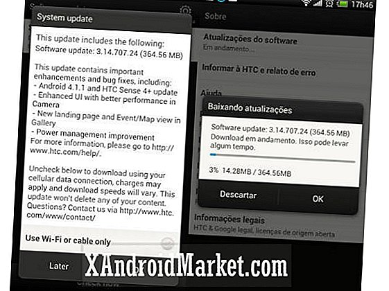 HTC One X Android 4.1.1 Jelly Bean-update rolt uit op internationale markten