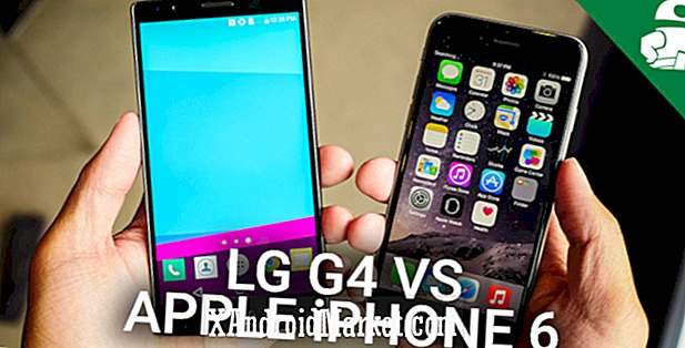 LG G4 vs iPhone 6 - comparaison rapide