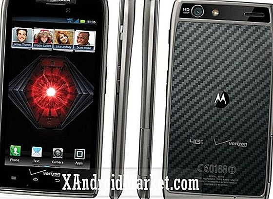 Verizon zegt ICS-upgrade op Motorola Droid Razr