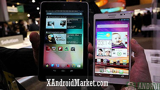 Huawei Ascend Mate vs Google Nexus 7