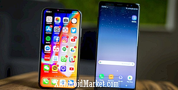 Galaxy S8 et Note 8 sont plus sensibles que l'iPhone X, selon Consumer Reports