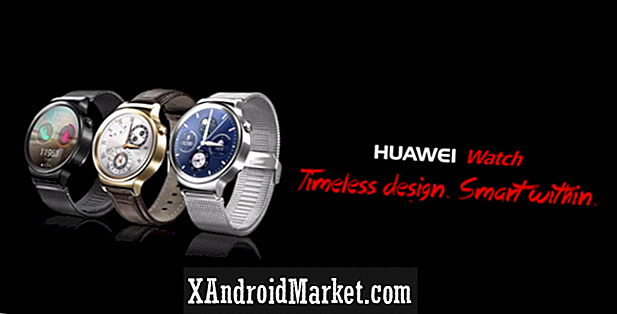 New Android Wear-powered Huawei Watch fremhævede i to promo videoer