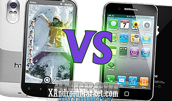 HTC Amaze contre iPhone 4S - Escarmouche de Superphone