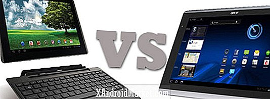 Prix ​​de tablette Android Honeycomb Plongez!  Acer Iconia A500 Vs.  Asus Eee Pad Transformer
