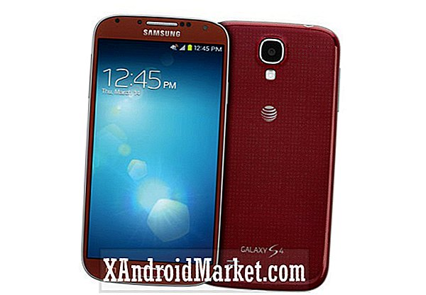 Le Samsung Galaxy S4 désormais disponible en rouge Aurora exclusivement chez AT & T