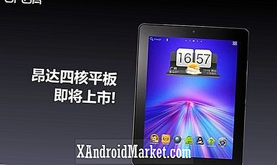 Onda V972 tablet afsløret - Retina-stil display, quad-core CPU og gelébønne for kun $ 240