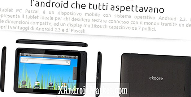 Ekoore introducerer Pascal Android Tablet