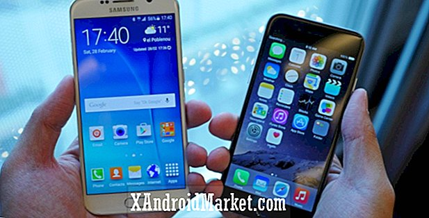 Samsung Galaxy S6 vs iPhone 6 coup d'oeil