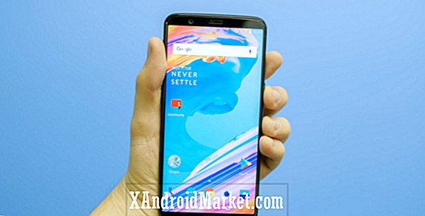 OnePlus 5T tapet download (Opdatering: Sandstone White, Lava Red editions)