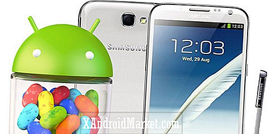 Les versions internationales Samsung Galaxy Note 2 et Note 2 LTE maintenant mises à jour pour Android 4.1.2