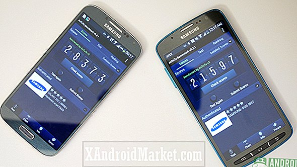 Samsung fanget gaming benchmarks med Galaxy S4